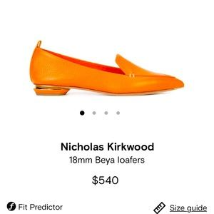 NicHolas Kirkwood Beya leather loafers shoes